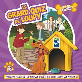 jeux d'animation de prévention morsure chien pour enfants
