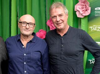 Phil Collins und Günter Schneidewind