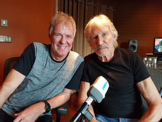Beim Exklusivinterview mit Roger Waters