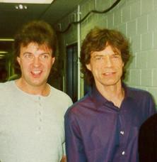 1999 Günter Schneidewind und Mick Jagger