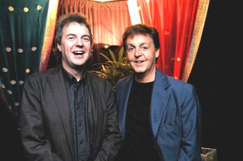 Günter Schneidewind und Paul McCartney
