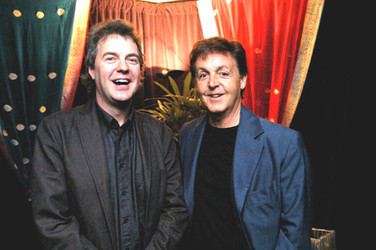 Günter Schneidewind und Paul McCartney