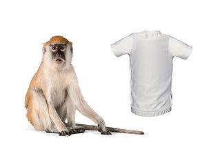 monkey undershirt