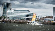 Extreme Sailing Series Act 5 Hamburg