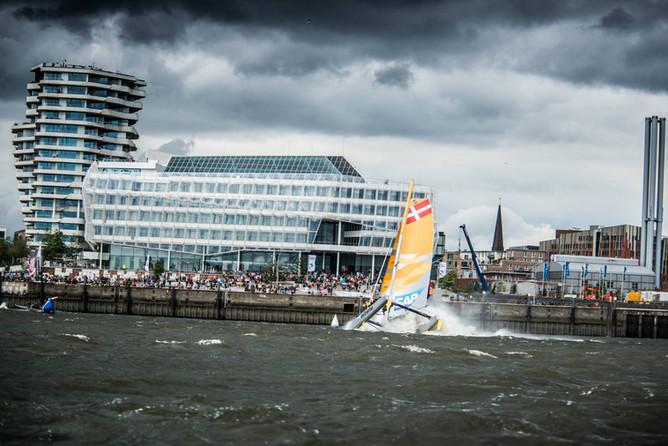 Extreme Sailing Series Act 5 Hamburg
