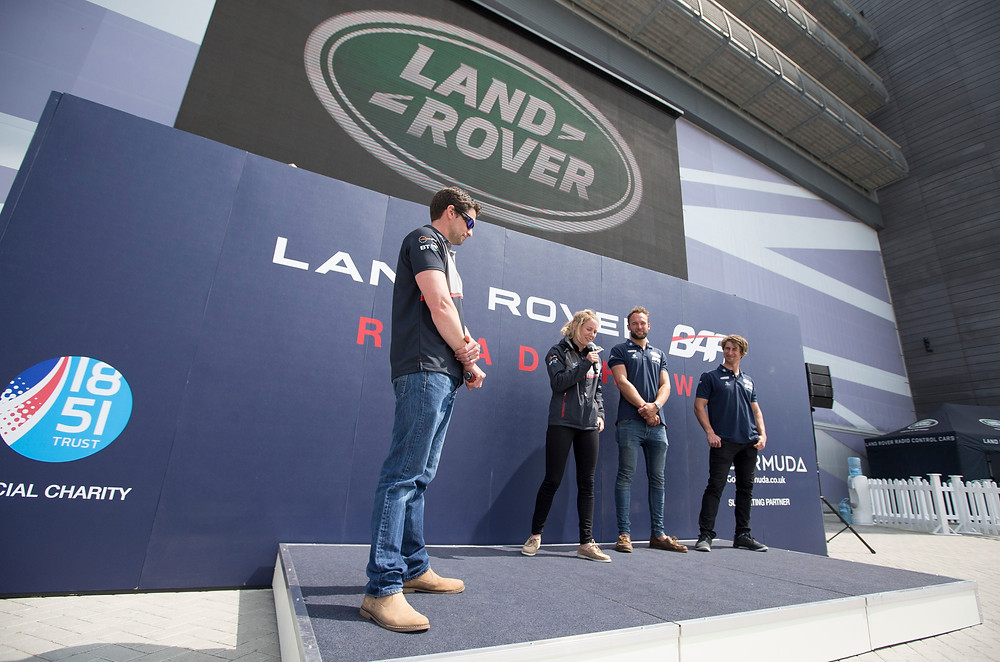 Land Rover BAR Roadshow