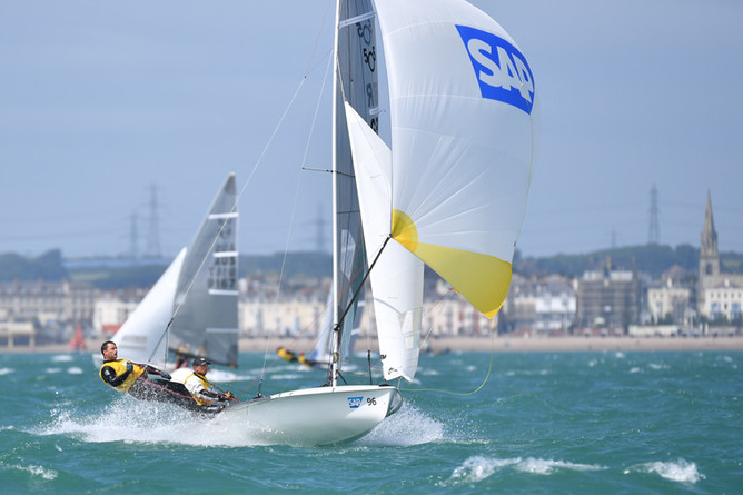 SAP 505 Worlds in Weymouth