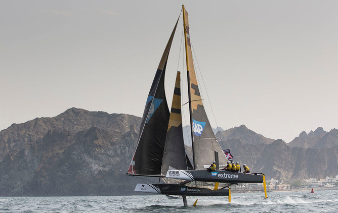 Extreme Sailing Series 2016 Act 1 Muscat
