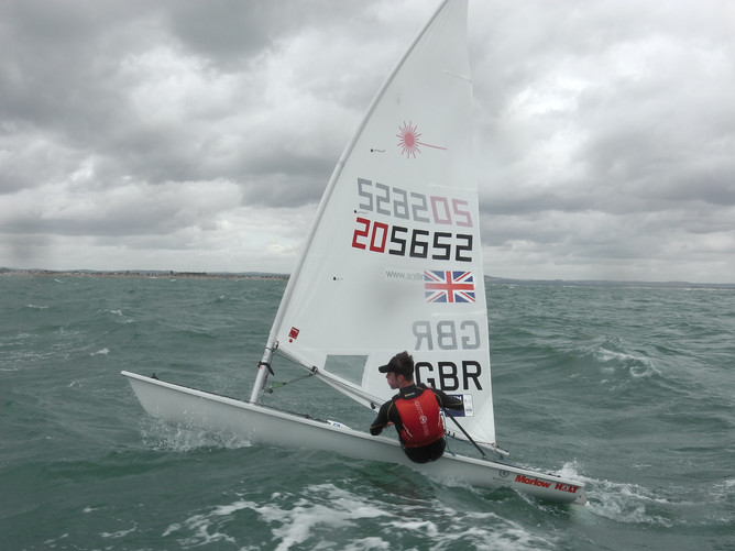 Solent delivers wind and waves