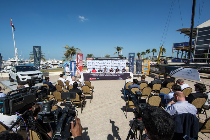 Extreme Sailing Series Launch