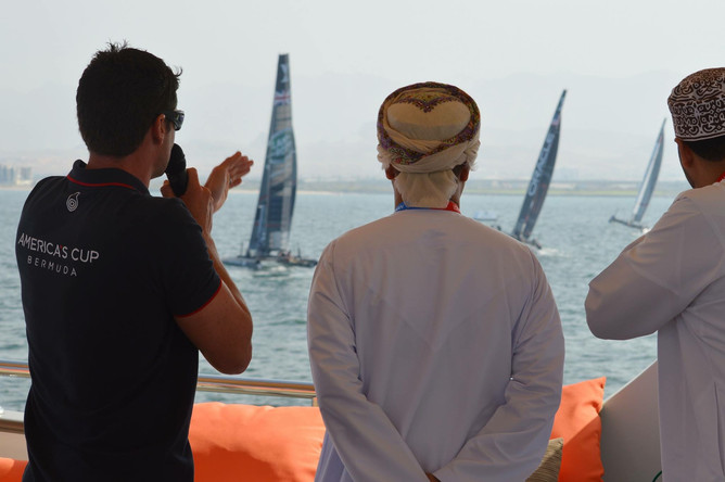 Louis Vuitton Americas Cup – World Series Oman