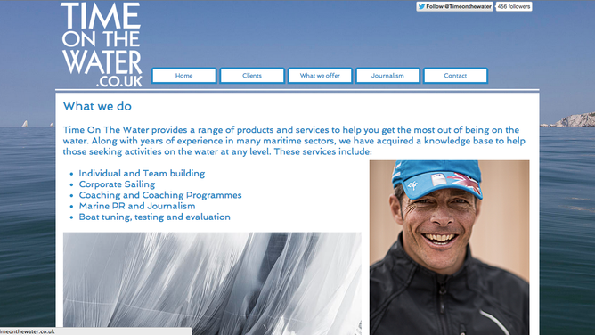 Launch of the new website Time on the Water