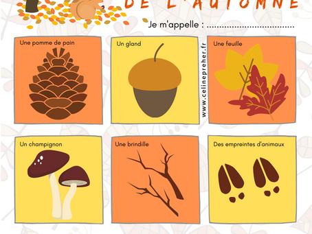 [TÉLÉCHARGEMENT GRATUIT] La chasse au trésor de l'automne