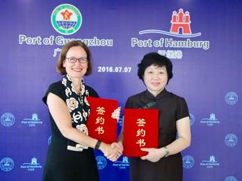 Port of Hamburg Marketing Guangzhou Press Conference