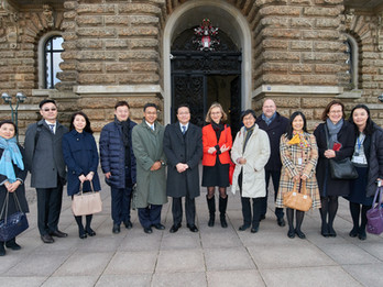 Visit of the Hong Kong Maritime and Port Board (HKMPB) to Hamburg