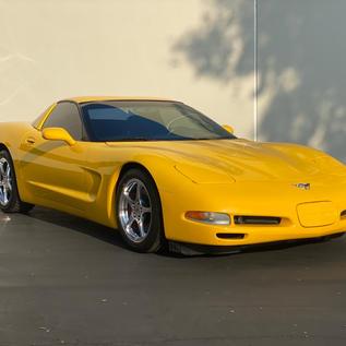 Corvette Coupe Car Detailing