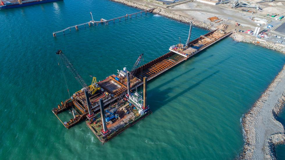 Pólder del puerto de Brest