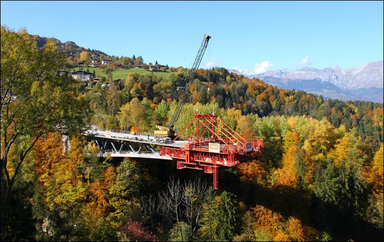 St Gervais pont mobile