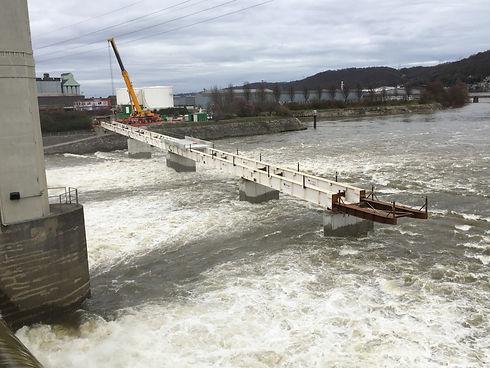 Pont barrage de Monsin (Liège)