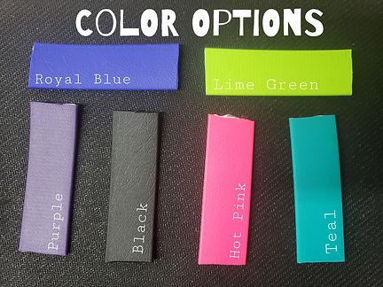 Diamondcrest Designs Color Opions 1 inch