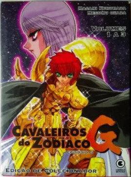 Cavaleiros do Zodiaco episódio G volumes 1 a 3 - Edição de Colecionador