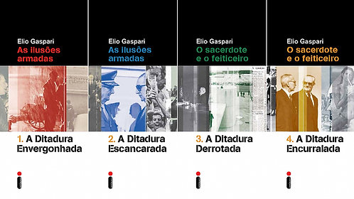 Coleção Ditadura - 4 Volumes