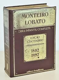 Monteiro Lobato Obra Infantil Completa - edição centenário 1882 1982