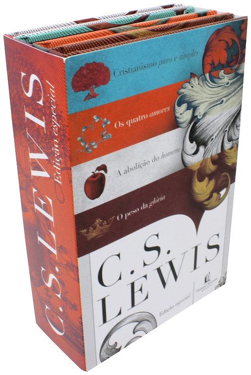 C.S. Lewis - Box com 4 livros