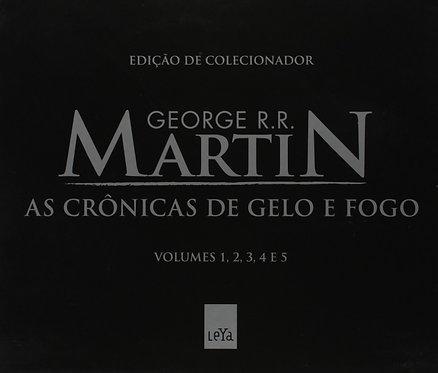 As Crônicas de Gelo e Fogo - Caixa com 5 Volumes