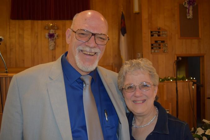 Ken and Vicki Mansell - Japan