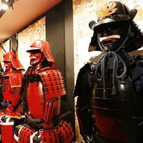 Samurai Armor - An extraordinarily complex construction of craftsmanship and beauty