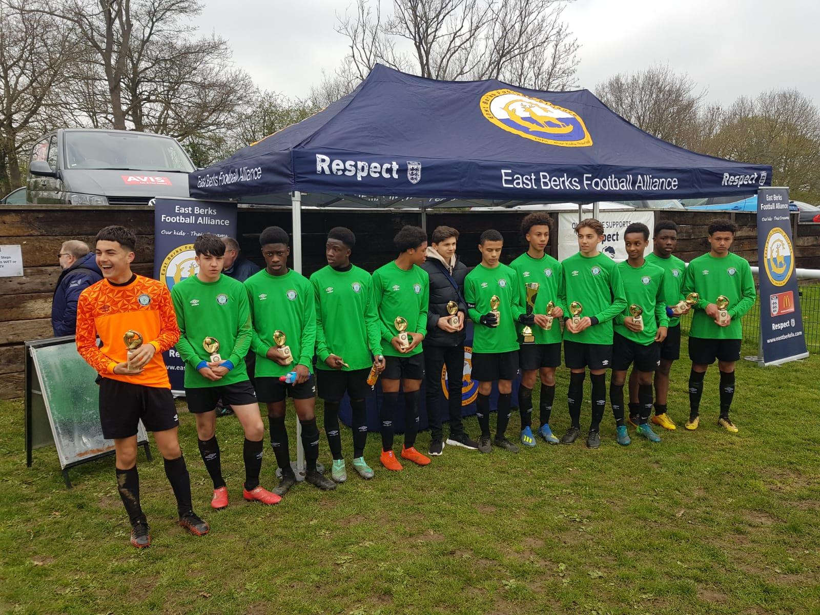 East Berks U15 Cup Winners