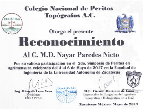 Nayar Paredes Topografia Forense Peritos