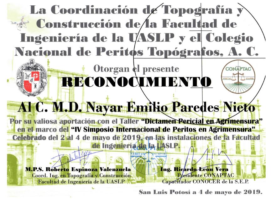 Nayar Paredes Topografia Pericial San Lu