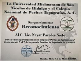 Nayar Paredes Topografia Forence Michoca