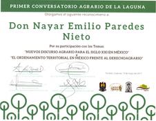 Nayar Paredes Abogado Agrario Conversato