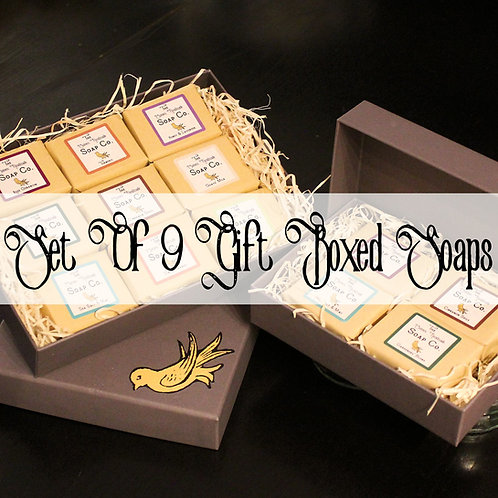 Mix & Match Gift Box With 9 60g Guest Soaps