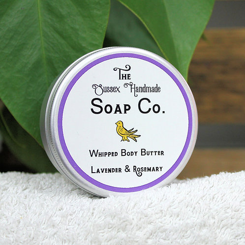 Whipped Body Butter Lavender & Rosemary
