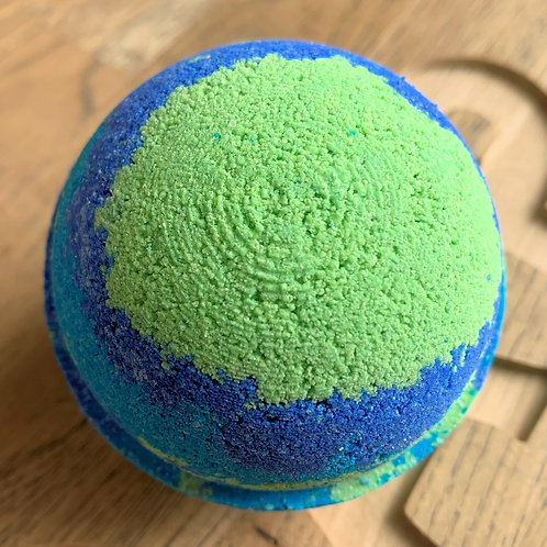 Emerald Agave Bath Bomb