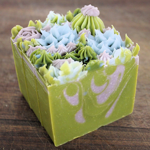 Limited Edition Emerald Agave Soap