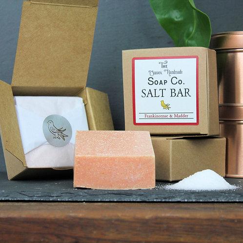 Frankincense & Madder Salt Bar