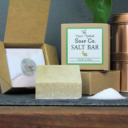 Nettle & Shea Salt Bar
