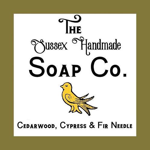 Cedarwood, Cypress & Fir Needle Soap