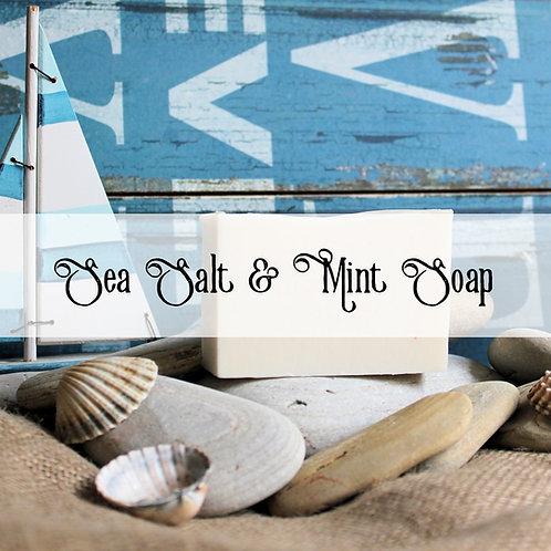 Sea Salt & Mint Soap