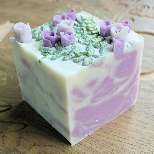 Limited Edition Roses & Ferns Soap