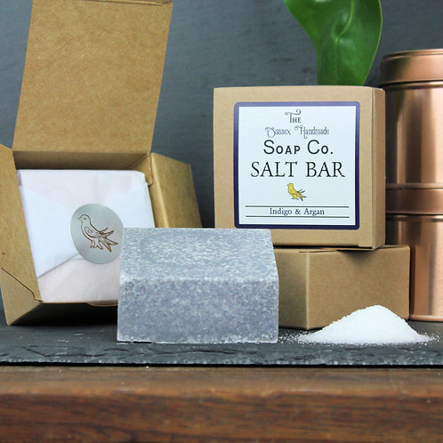 Indigo & Argan Salt Bar