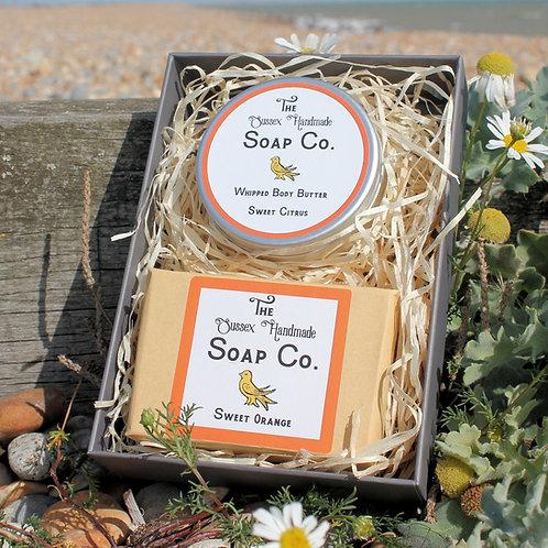 Sweet Citrus Body Butter & Soap Gift Set