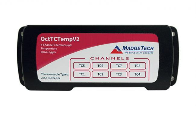 OctTCTemp Data Logger