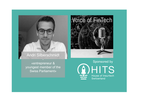 Interview Andri Silberschmidt - Voice of Fintech Podcast sponsored by HITS