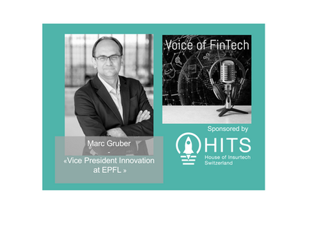 Interview Marc Gruber - Voice of FinTech Podcast sponsored by HITS
